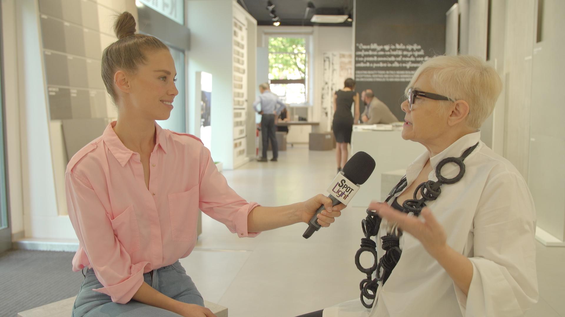 מעצבת העל אנגלה לנציאנו | CottoDeste, סמל של איכות